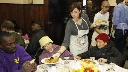 Homeless Banquet