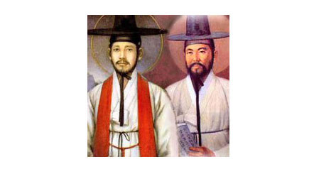 Andrew Kim Taegon, Paul Chong Hasang, and Companions