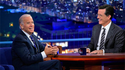 Biden, Colbert on Faith